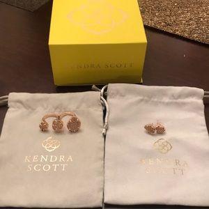 🎉 NWOT NEW KENDRA SCOTT ROSE GOLD SET 🎉